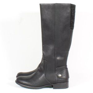 Life Stride Xandy Black Leather Riding Boots